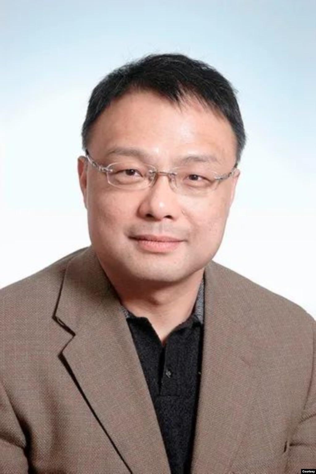 南京大学南海协同创新研究中心主任朱锋(photo:VOA)