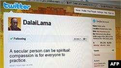 达赖喇嘛的官方推特