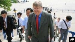 지난 2007년 북한과 핵 동결 조치를 협의하기 위해 평양을 방문했던 올리 하이노넨 전 IAEA 사무차장.