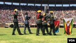 Kunanzwa usuku lweDefence Forces Day.