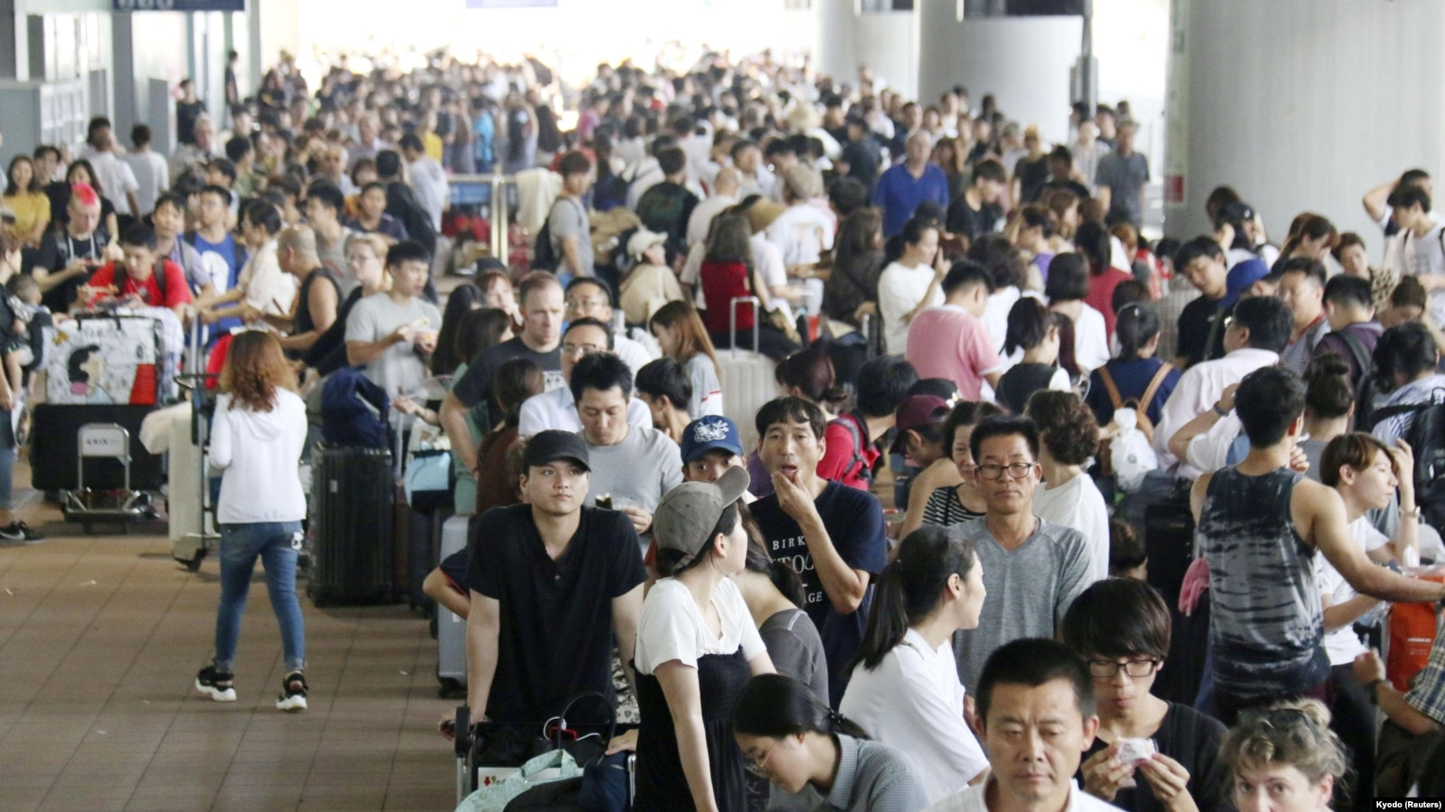 Major Japanese Airport Remains Closed After Typhoon Jebi
