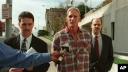 16 Temmuz 2020'de idam edilen Wesley Ira Purkey'nin, 1998 yılında, 80 yaşındaki Mary Ruth Bales'in öldürülmesiyle bağlantısı olduğu suçlamasıyla Kansas'ta tutuklandığı an
