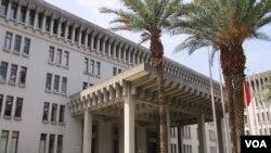 台湾外交部大楼 (美国之音张永泰 拍摄)