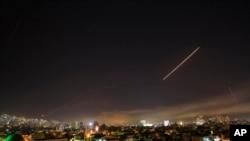 Napadi na podrucje blizu Damaska