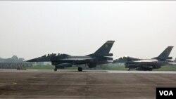 Indonesia dan AS menyepakati transaksi 30 pesawat F16, di mana 24 pesawat untuk regenerasi dan 6 lainnya akan dipakai sebagai suku cadang (foto: ilustrasi).