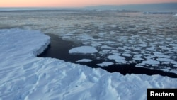 Một tảng băng lớn ở Australia, 11/1/2008. REUTERS/Torsten Blackwood