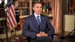 رئيس جمهوری آمريکا می گويد: رهبری فقط به معنای گذراندن قانون نيست