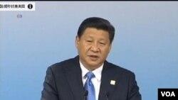 """中國國家主席習近平11月8日在亞太經合組織工商領導人會議上宣佈斥巨資推動""""一帶一路""""經濟帶的建設。"""