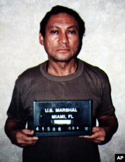 Foto de 1990 de Noriega, preso en Estados Unidos.