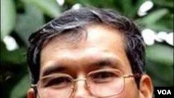 Pembangkang utama Vietnam, Pastor Nguyen Van Ly.