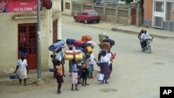 Cidade de Sumbe na província de Kwanza-Sul
