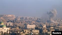 Alep, une ville détruite, un peuple aux abois...