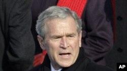 美国前总统布什(资料照片)