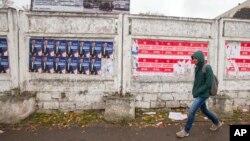 지난달 26일 몰도바 키시나우 거리. (자료사진)