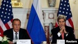 美國國務卿克里星期五與到訪的俄羅斯外長拉夫羅夫會晤。