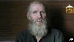طالبان میگوید وضعیت صحی یک استاد امریکایی ربوده شده نگران کننده است.