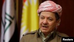 Kurdiston avtonomiyasi rahbari Masud Barzaniy