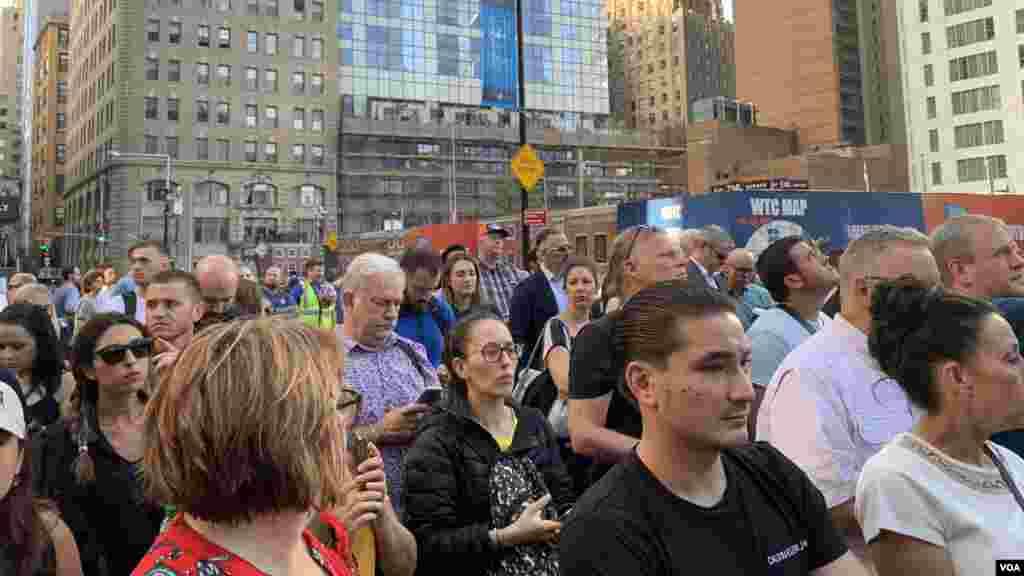 Familiares de las víctimas leyeron los nombres de cada una de las víctimas fatales del ataque contra Estados Unidos, que enlutó al mundo el 11 de septiembre de 2001.