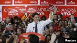 Liberal Parti lideri Justin Trudeau