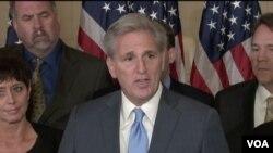 众院共和党领袖麦卡锡宣布退出议长竞争