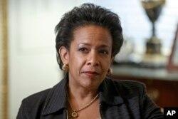 奥巴马总统提名的司法部长人选联邦检察官林奇