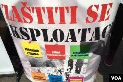 U BiH je u posljednje vrijeme u porastu radna eksploatacija, dok je seksualna kontinuirano prisutna.