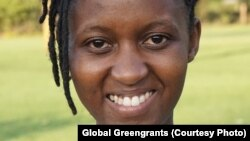 Winnie Asiti, A young Kenyan environmental activist and a leader of the global climate youth movement