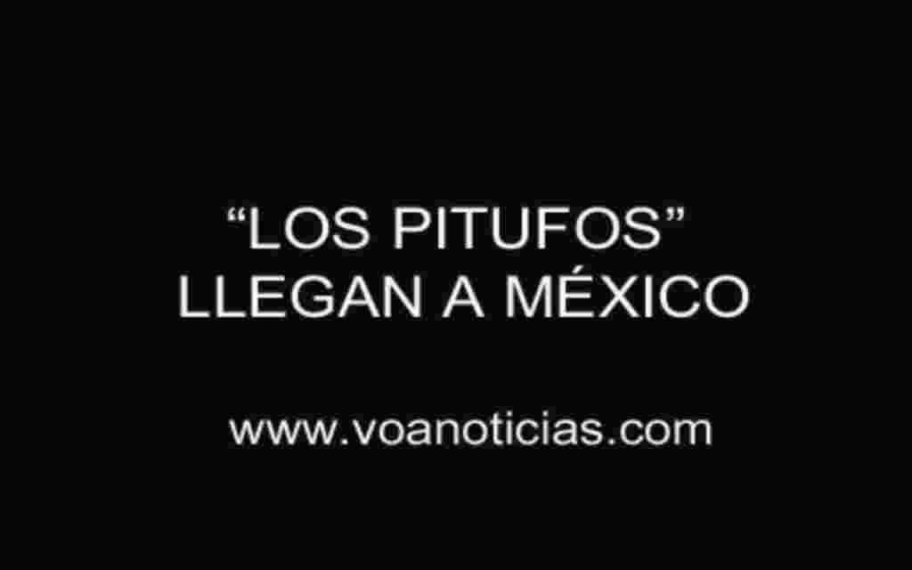 Los pitufos llegan a México