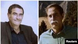 Ilmuwan Amerika David Wineland (kanan) dan ilmuwan Perancis Serge Haroche menerima Nobel Fisika 2012 (Foto: dok).
