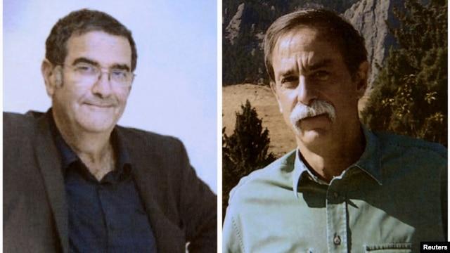 Hai nhà vật lý học David Wineland, người Mỹ và Serge Haroche (trái), người Pháp.