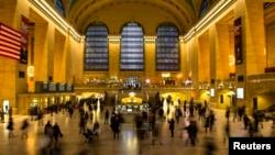 미국 뉴욕의 그랜드 센트럴 스테이션. (자료사진)
