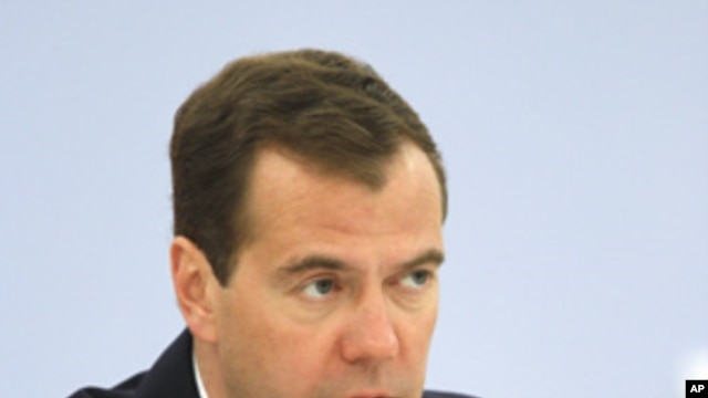 Russia's President Dmitry Medvedev. (File Photo)
