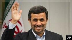 ປະທານາທິບໍດີ Mahmoud Ahmadinejad ແຫ່ງອີຣ່ານ.