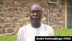Abakar Khamis, maire adjoint de la commune du 6ème arrondissement, à N'Djamena le 10 septembre 2019. (VOA/André Kodmadjingar).