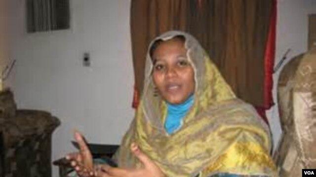 FILE - Mariam al-Sadiq al-Mahdi.