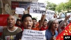 Biểu tình chống Trung Quốc tại Hà Nội, ngày 12/6/2011