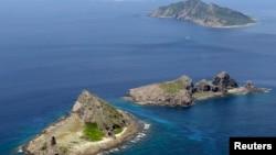 Nhóm đảo Senkaku/Điếu Ngư ở biển Hoa Đông.