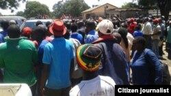 MDC-T supporters in Gweru