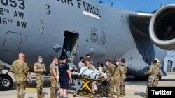 Afganistanka se porodila u avionu tokom evakuacije (Foto:Twitter @AirMobilityCmd)