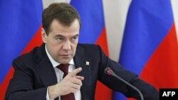 Prezident Dmitriy Medvedev