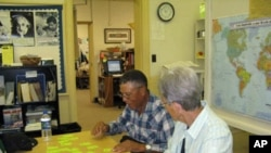 Volunteer tutors at the Nashville Adult Literacy Council work individually with adult learners.
