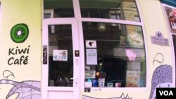 Attackers reportedly pelted patrons with meat at the Kiwi Cafe, a vegan cafe in Tbilisi, Georgia.