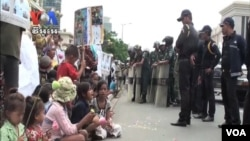 Borei Keila residents have been in a conflict with the development company, Phanimex, since 2007.