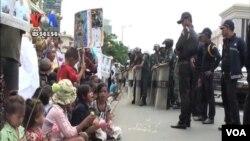 Những người bị cưỡng bức dời cư ở khu Borei Keila