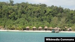 Ảnh minh họa: Hòn đảo nghỉ dưỡng Koh Rong ở Campuchia.