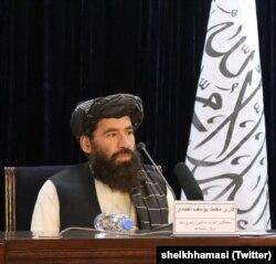 قاری یوسف احمد کئی برس سے طالبان کی ترجمانی کر رہے ہیں۔