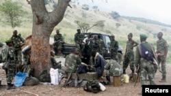Des soldats FARDC dans le Nord-Kivu (Reuters)