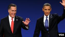 奥巴马和罗姆尼市民大会辩论