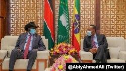 Muummicha Ministiraa Abiy Ahimed, Prezidaantii Sudaan Kibbaa Salvaa Kiir
