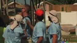 2011-11-08 粵語新聞: 卡特訪問海地﹐討論震後重建